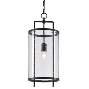 Chesten Antique Black One-Light Pendant