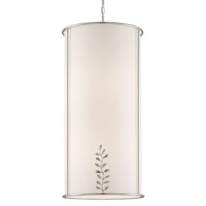 Driscoll Polished Nickel Eight-Light Chandelier