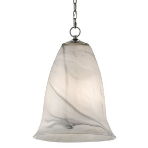 Ottorino White and Gray One-Light Pendant