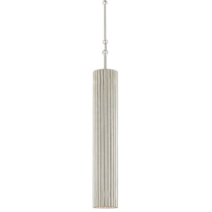 Penfold Contemporary Silver LED Mini Pendant