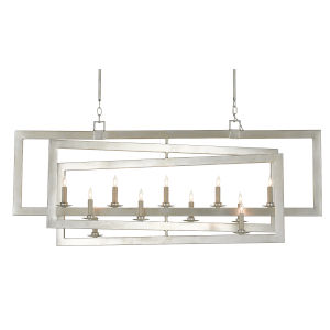 Middleton Contemporary Silver 11-Light Chandelier