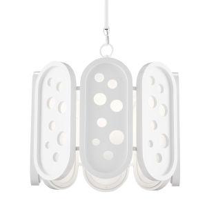 Lapidus Sugar White Four-Light Chandelier