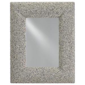 Batad Natural Batad Shell Rectangle Mirror