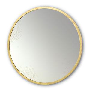 69fddf593b46 Varaluz Ringleader Gold Leaf RoundMirror 410a01gl