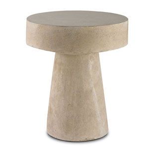 Higham Light Acid Wash 20-Inch Outdoor Occasional Table