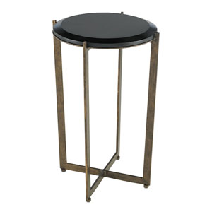 Galbi Black Drinks Table
