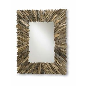 Beachhead Driftwood Mirror