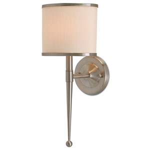 Primo Satin Nickel One-Light Wall Sconce