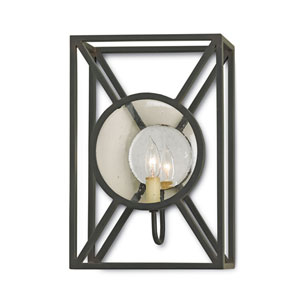 Beckmore Old Iron 15-Inch Wall Sconce