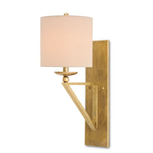 Anthology Vintage Brass 9-Inch One-Light Wall Sconce