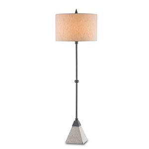 Irwin Polished Blacksmith One-Light Table Lamp
