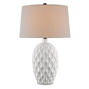 Tazetta Antique White One-Light Table Lamp