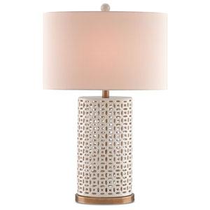 Bellemeade Ivory One-Light Table Lamp