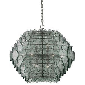 Braithwell Painted Silver Granello 14-Light Pendant
