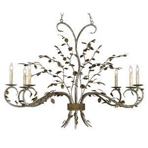 Raintree Six-Light Oval Chandelier