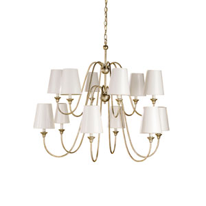 Orion Twelve-Light Chandelier - Without Shades