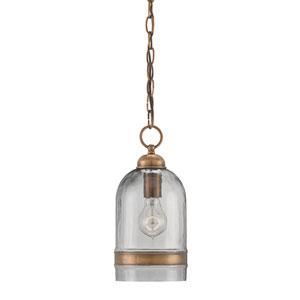Muirhouse Antique Brass One-Light Mini Pendant