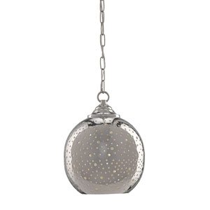 Pepper Nickel One-Light Pendant
