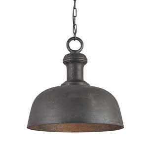 Timpano Antique Charcoal 18.5-Inch One-Light Pendant