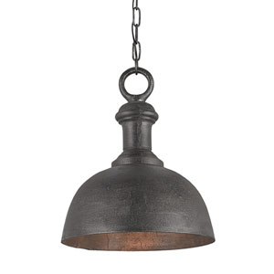 Timpano Antique Charcoal 14-Inch One-Light Pendant