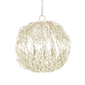Eventide White Coral 26-Inch Three-Light Pendant