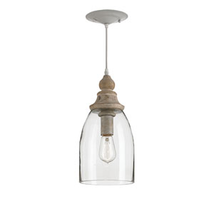 Anywhere Natural One-Light Mini Pendant