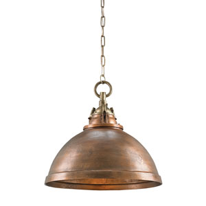 Admiral Copper One-Light Pendant