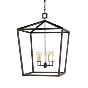 Denison Mole Black Five-Light Large Lantern