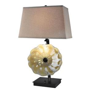 Dark Bronze Two-Light 17-Inch Table Lamp