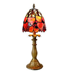 Estelle Antique Bronze One-Light Tiffany Accent Lamp