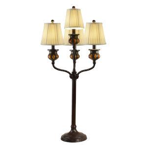Springdale Antique Bronze Bedalo 18-Inch Four-Light Buffet Lamp