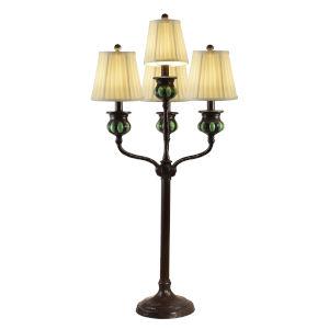 Springdale Antique Bronze Bedalo Four-Light Buffet Lamp