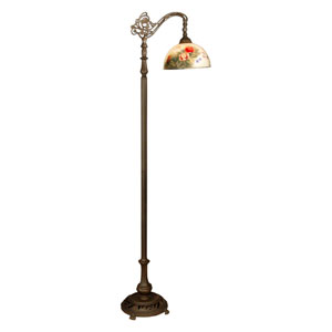Tiffany Handale Rose Floor Lamp