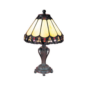 Peacock Accent Lamp