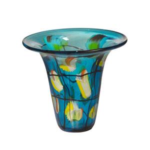 Hand Blown Art Glass 9-Inch Imagination Vase