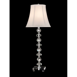Chrome Simon Buffet Table Lamp