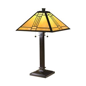 Noir Mission Table Lamp