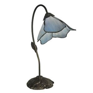 Poelking Dark Antique Bronze 19-Inch Table Lamp