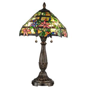 Trellis Metal Two Light 27.5-Inch Table Lamp