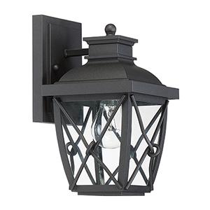 Belmont Black One-Light Wall Lantern