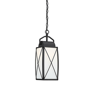 Fairlington Black One-Light Hanging Lantern