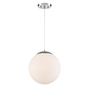 Kelvin Chrome One-Light Pendant