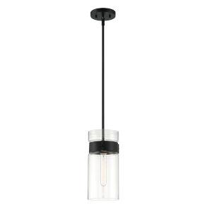Midnight LA Matte Black One-Light Mini Pendant