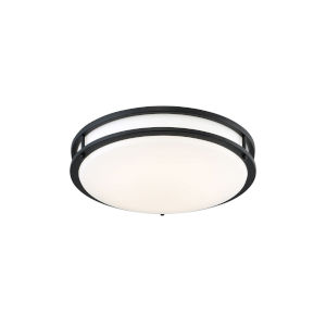 Oil Rubbed Bronze 16-Inch LED Flush Mount