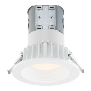 White Four-Inch 2700K LED Recessed Light