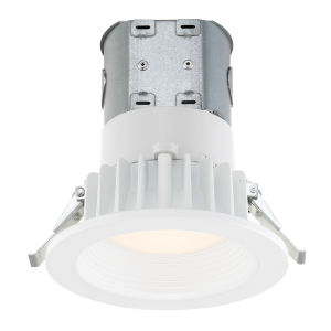 White 11W 3000K 725 Lumen LED Recessed Light