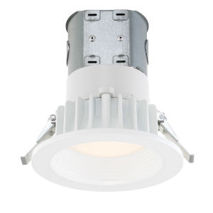 White Four-Inch 5000K LED Recessed Light