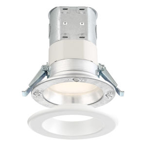 White Four-Inch 10W 2700K 700 Lumen LED Recessed Light