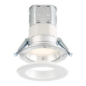 White 10W 3500K 700 Lumen LED Recessed Light