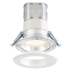 White Four-Inch 10W 4000K 700 Lumen LED Recessed Light